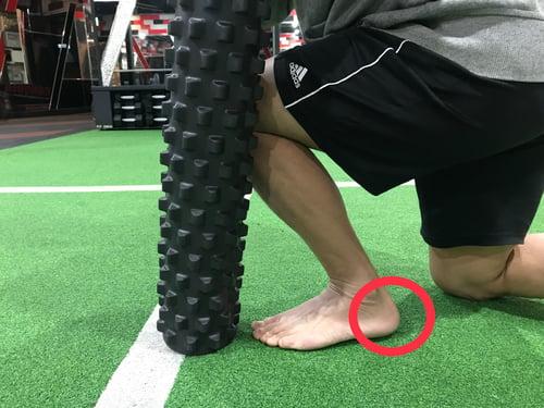 伸展小腿肌群