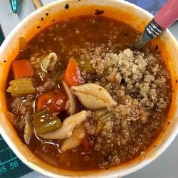 午餐-藜麥番茄湯1-2