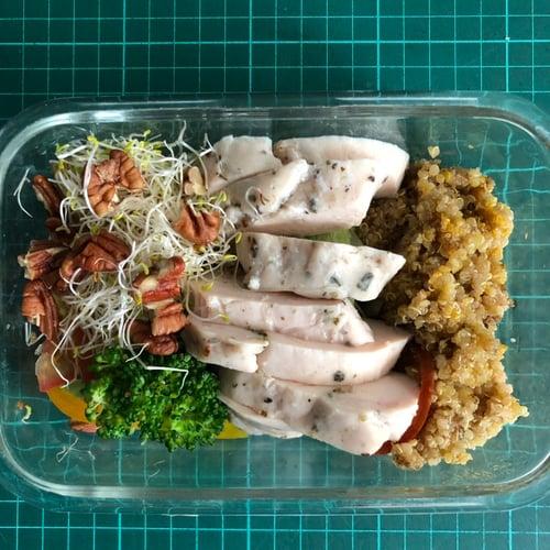 午餐,自製健康便當