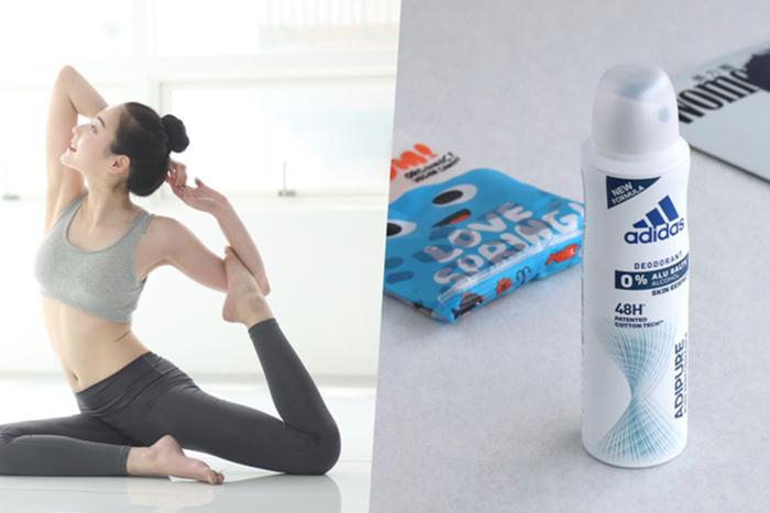 瑜珈、輕運動適合的止汗劑