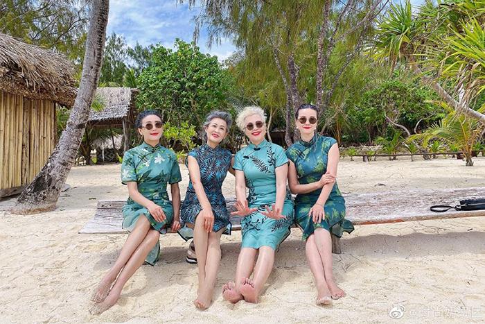 不同行業年紀接近,因為愛美成了時尚奶奶團