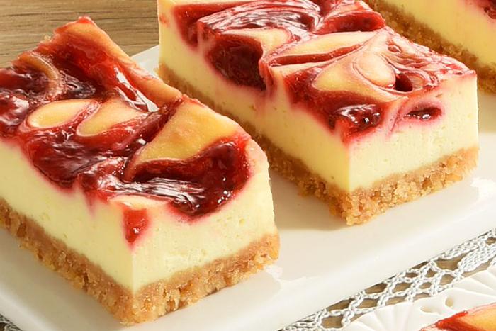 草莓季甜點熱量公開-亞尼克起司磚-草莓