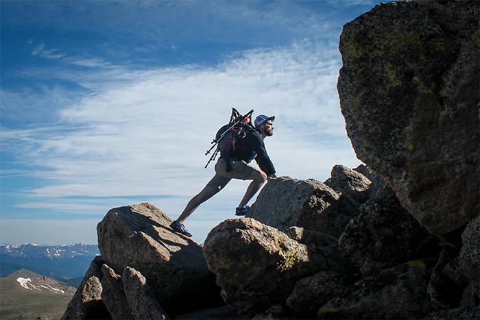 以培養運動習慣來說,爬山休閒或是驗收訓練成果,平時還是需要訓練喔