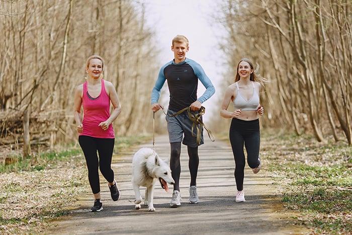 健走 走路 路跑 慢跑 健走活動 適合銀髮族
