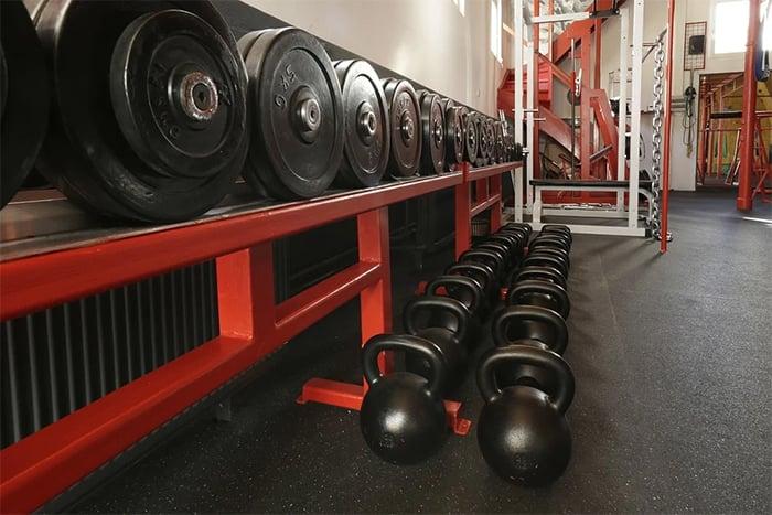 健身房器材設備
