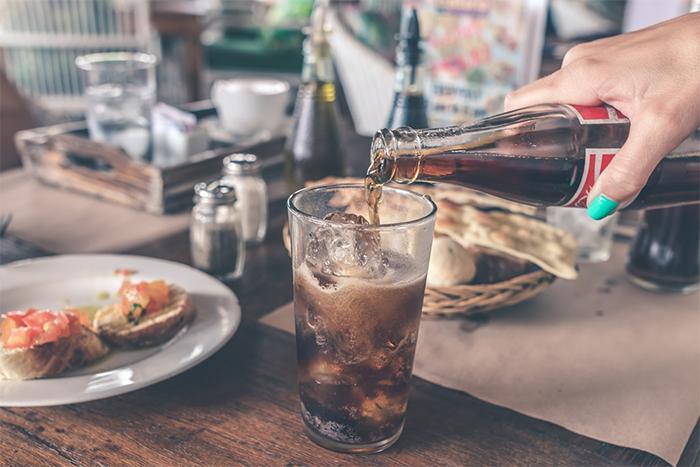 在美國排名容易上癮的垃圾食物汽水排行第8