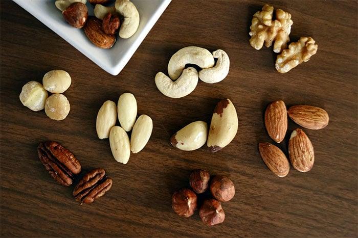 吃堅果可以補充優質蛋白質