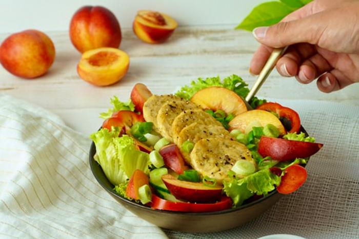 天貝的料理百百種,加入沙拉、漢堡、醬燒都可以