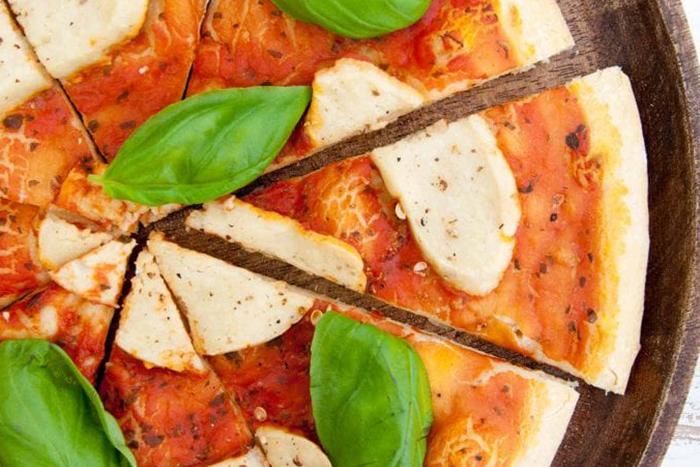 義式素食莫札瑞拉起司Pizza