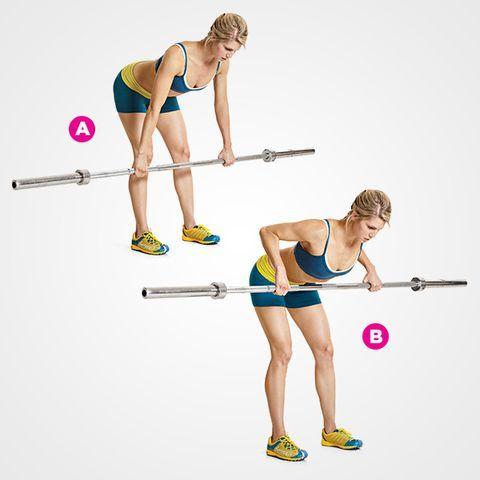 噓...健身教練不會告訴你的事!這些運動和TRX有同樣效果 槓鈴划船