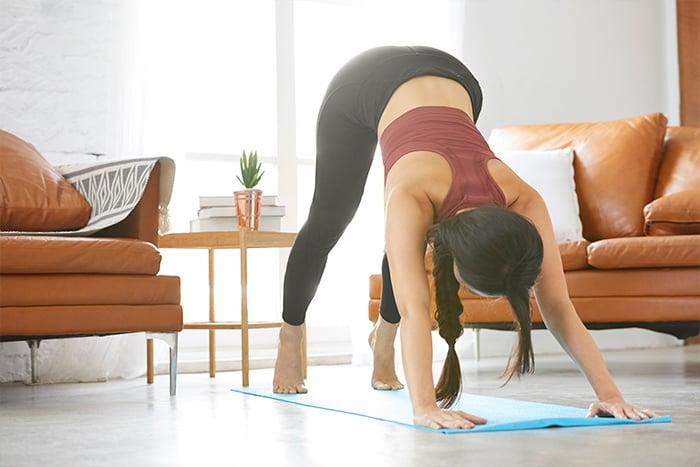 在家工作也要保持運動習慣