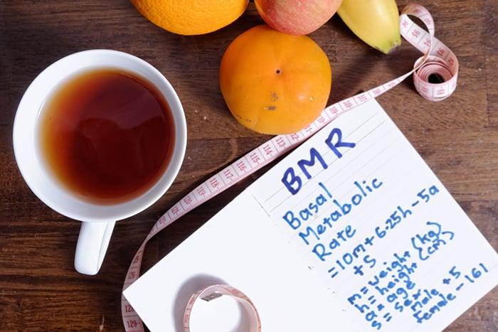 基礎代謝率 BMR 減重 減肥 受ㄕㄣ