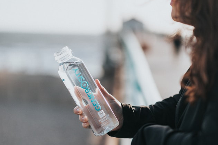 瘦腿運動外還要多喝水,提高新陳代謝
