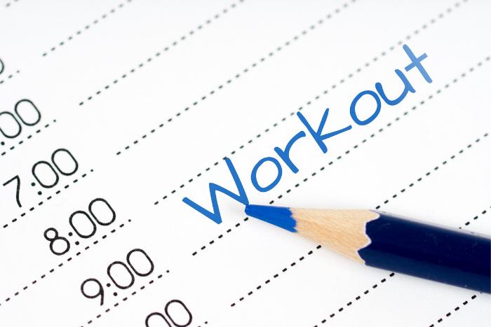 沒時間運動 8大健身Tips-將運動安排上日程