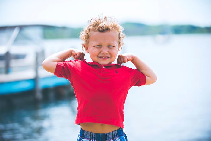 運動對孩子的好處-增加肺活量