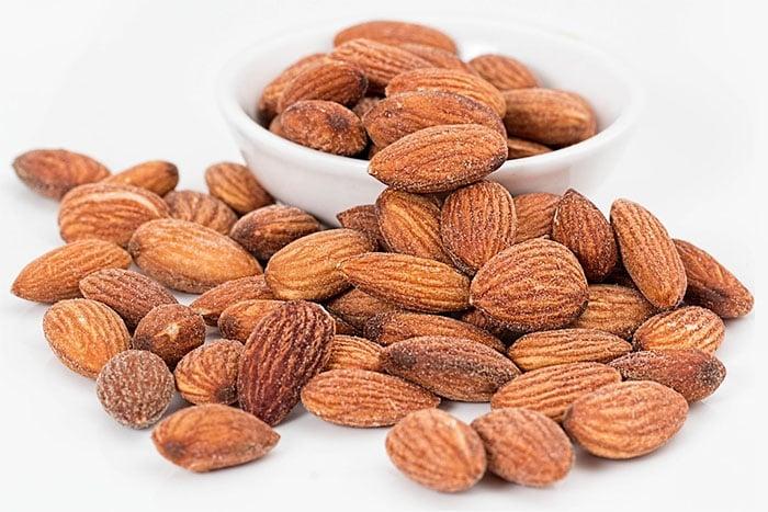 常見的堅果杏仁為扁桃仁