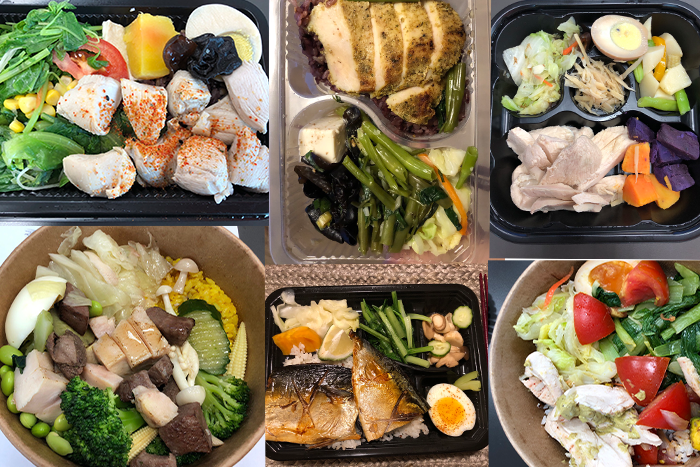 很多辦公大樓附近都有賣健康餐盒,或是用Uber eats、Food Panda叫外送,可以解決不知道該吃什麼的煩惱。