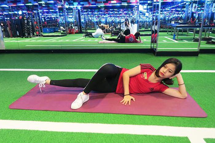 居家瘦腿的肌力訓練-大腿內側(抬腿)