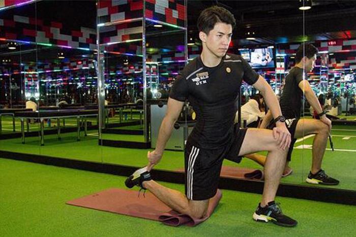 居家瘦腿的肌力訓練-大腿前側