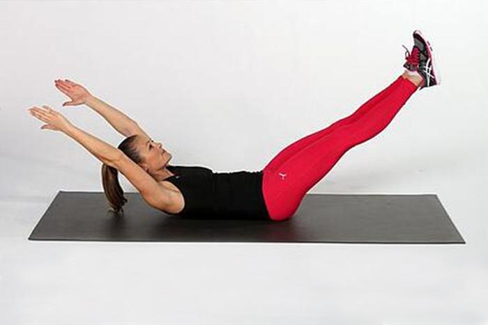 居家瘦腿的肌力訓練-腹直肌與下腹的訓練