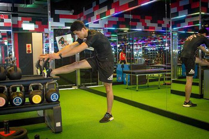 肌肉型瘦下半身運動-大腿後側伸展