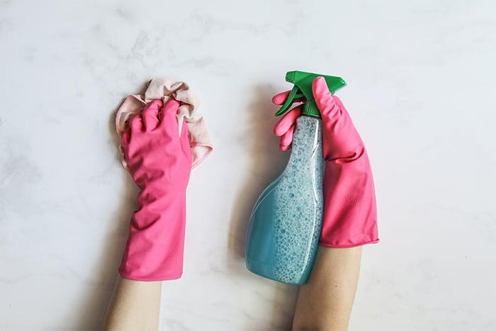 戴手套 清潔 避免皮膚乾燥 皮膚癢