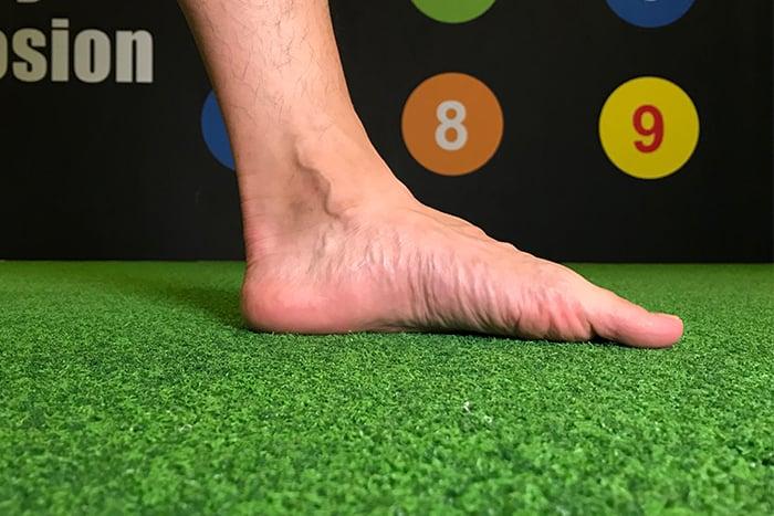 扁平足肌力訓練 腳掌往內翻