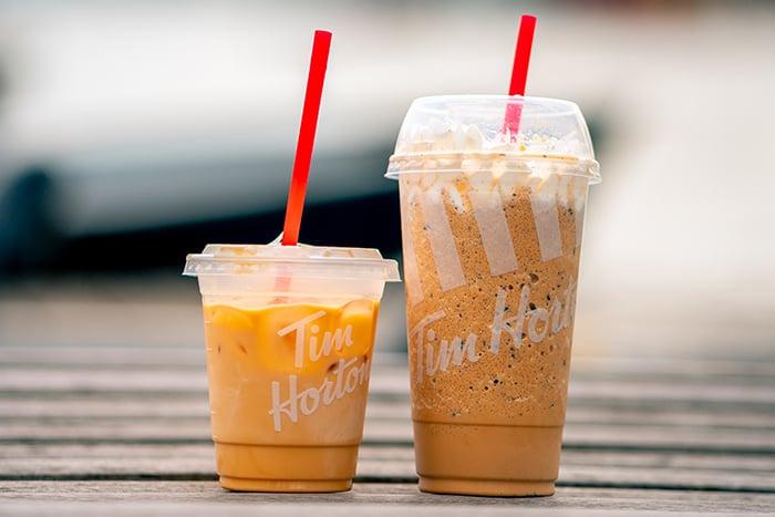 手搖飲料 選擇小杯或中杯份量 少攝取熱量