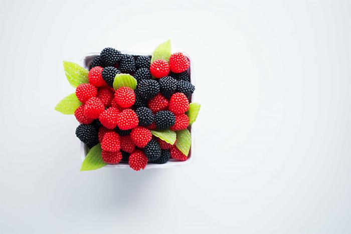 漿果類具有很強的抗氧化力,有助於清除自由基