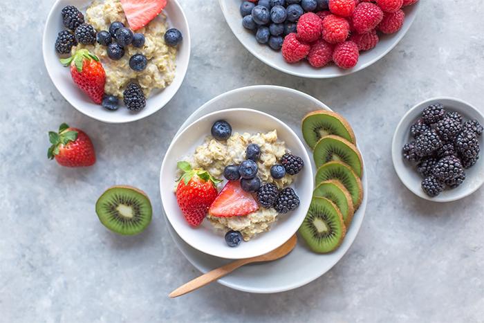 早餐前吃奇異果非常有飽足感,又讓腸胃好消化。