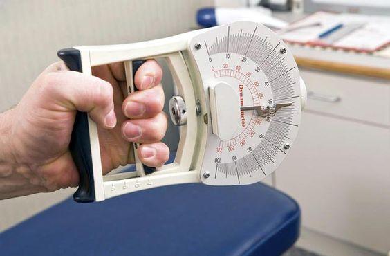 網路上可以查到很多種握力測試器,形式很多:指針式、電子式…等