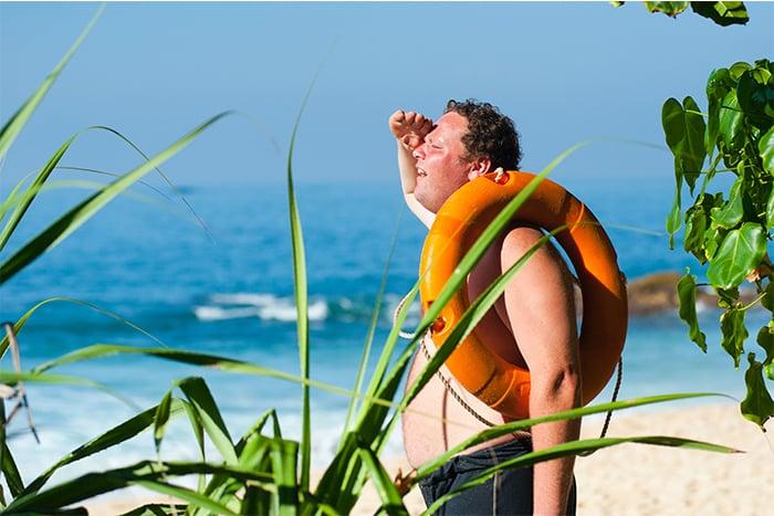 曬傷 夏日疲勞症候群原因與症狀