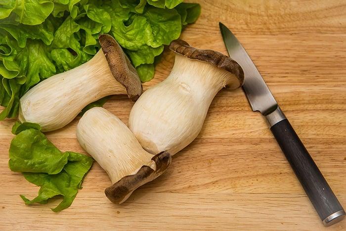 杏鮑菇 素食界的牛排 豐富蛋白質