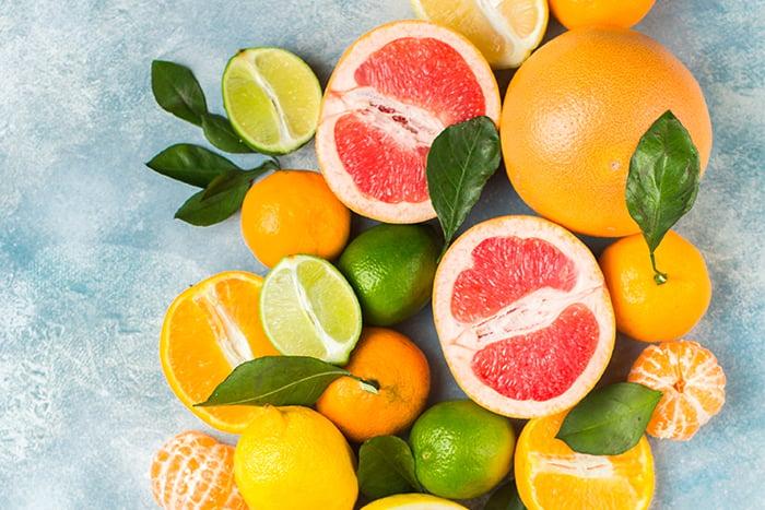 橘子的營養 維他命P 檸檬 葡萄柚