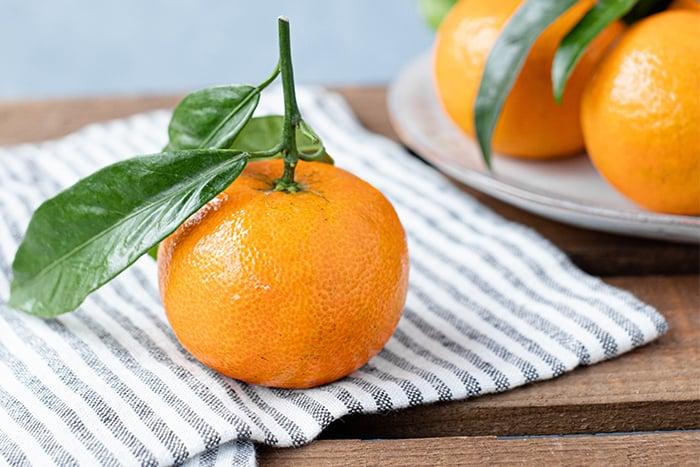 橘子的營養 熱量低 飽足感 維生素