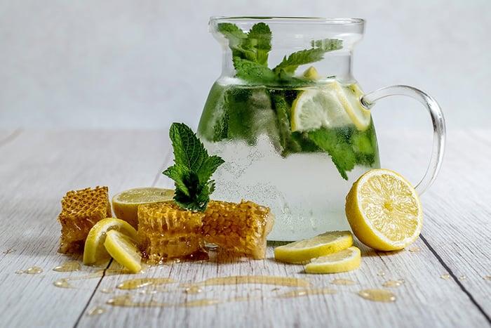 檸檬水加蜂蜜 不能加糖