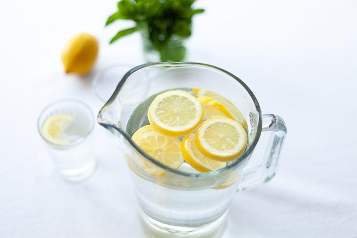 檸檬水 減肥 消水腫 微酸口感 維他命C 美白 瘦身 抗老化