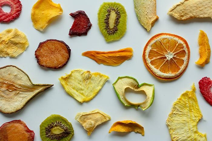 水果乾 果乾 人工加工 偽水果 加工食品 糖分高