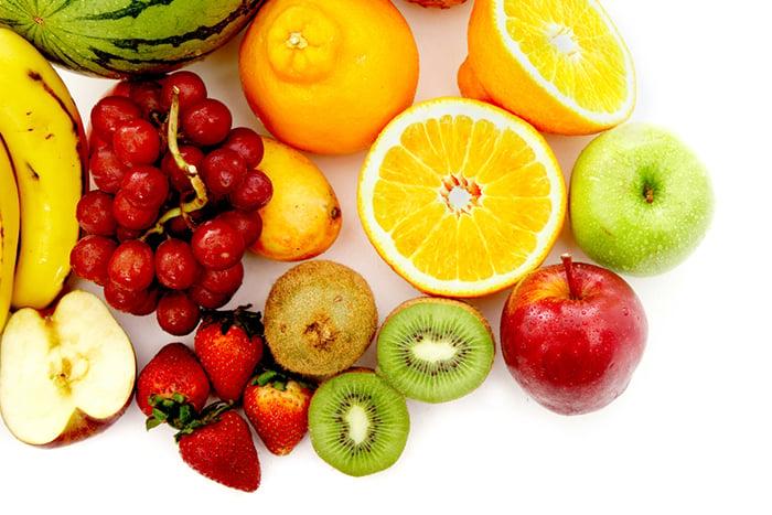 維他命A 維他命C 維他命E 改善二噁英 奇異果 草莓 葡萄 蘋果