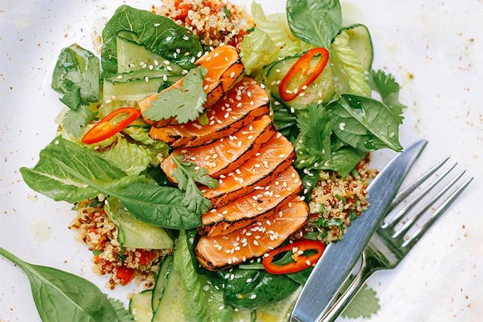 沙拉主食選優質蛋白質
