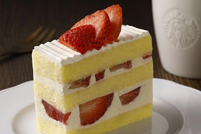 草莓季甜點熱量公開-法式草莓蛋糕