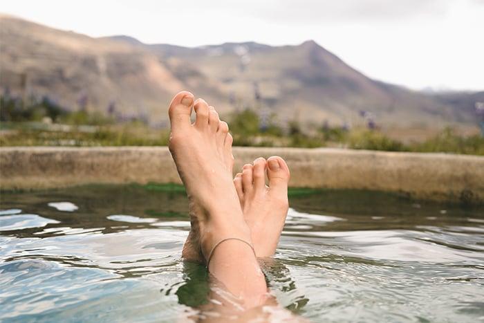 泡腳 血液循環 身體暖和 雙腳冰冷