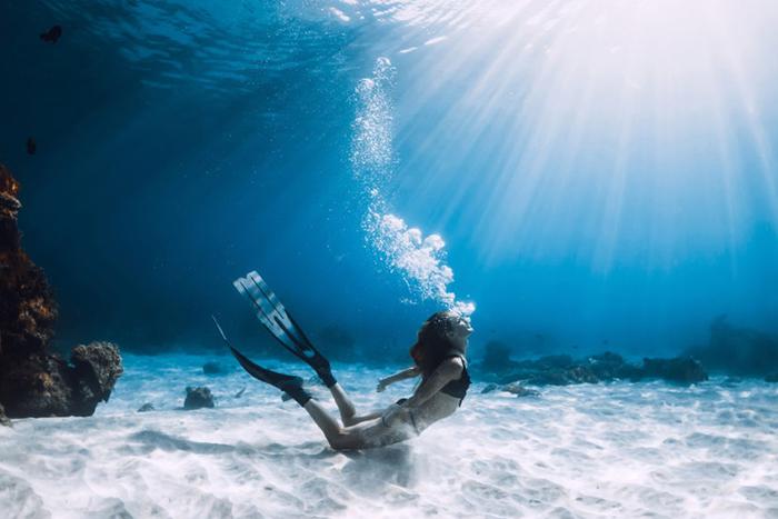 深刻感受自我心跳的的自潛時分:heyhey Dive