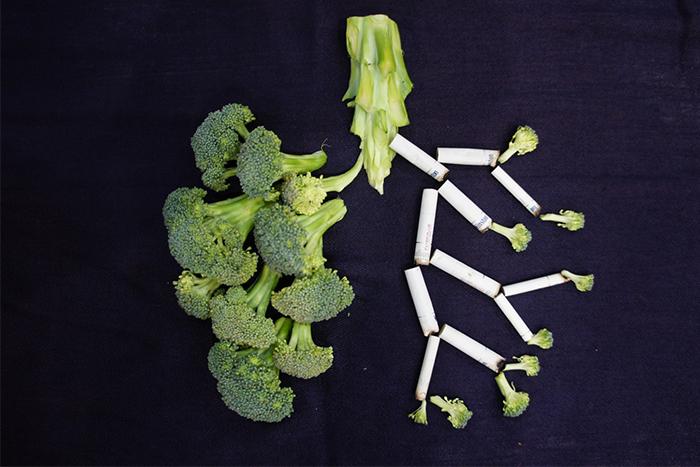 肺纖維化的日常照護方法-戒菸