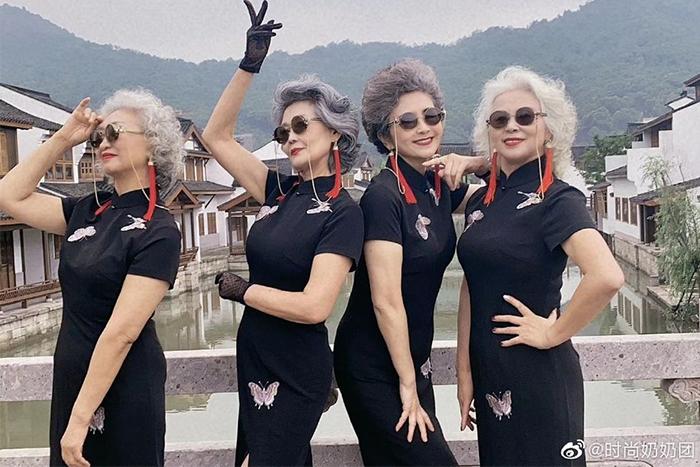 熱愛生活的時尚奶奶們