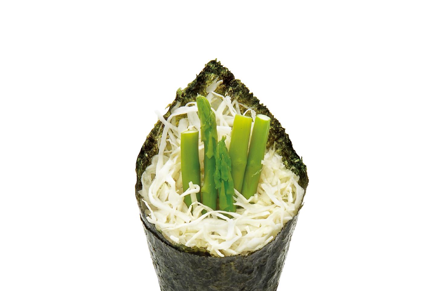 爭鮮壽司-蘆筍手卷