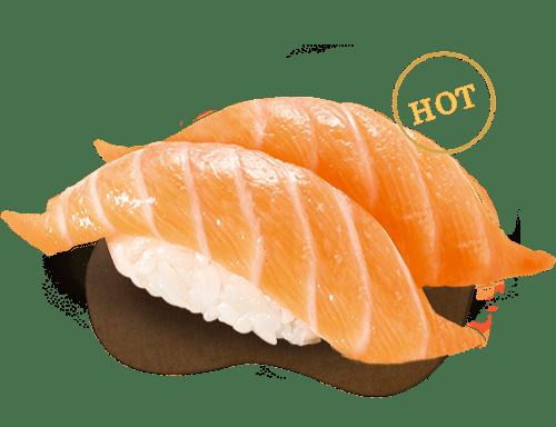 爭鮮-鮭魚握壽司
