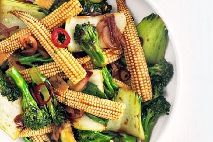 玉米筍料理