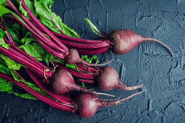 甜菜根富含膳食纖維且低熱量