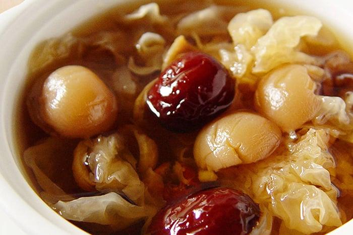 白木耳紅棗桂圓湯